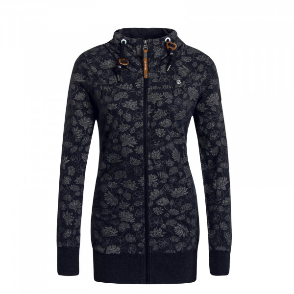 Damen Sweatjacke Abbie Black