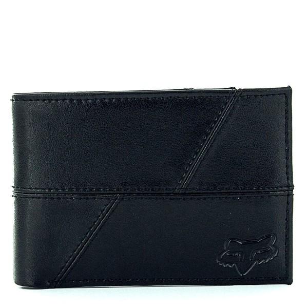 Fox Wallet Edge Leather Black