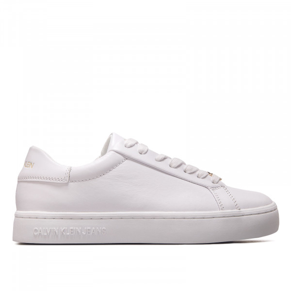 Damen Sneaker - Cuosole Sneaker Laceup Lth Bright - White