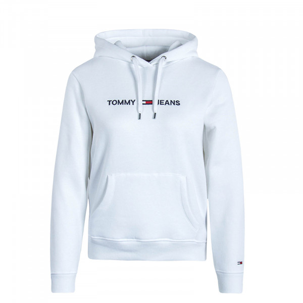 Damen Hoody TJW Clean Linear White