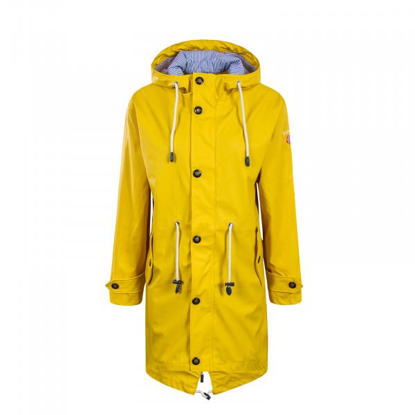 Bayside Wmn Raincoat  Norderney Yellow