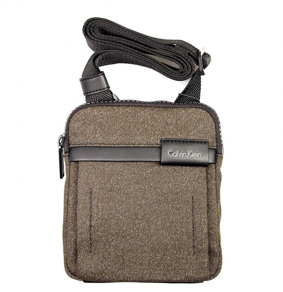 CK Bag Neil Mini Flat Cross Olive Black
