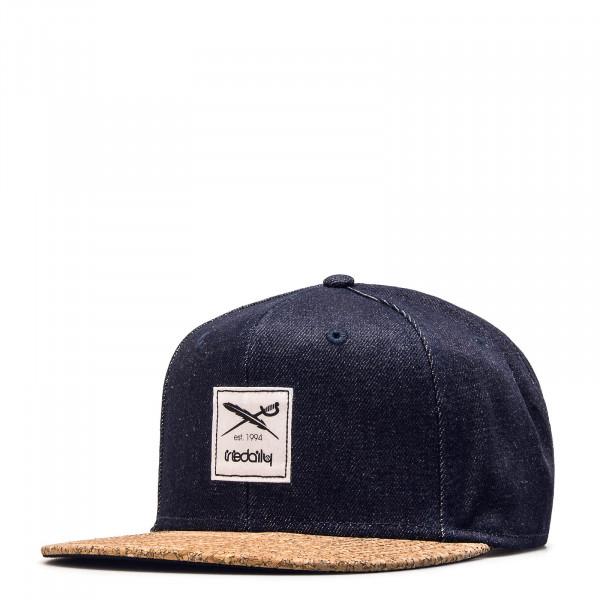 Iriedaily Cap Exclusive Cork Blue