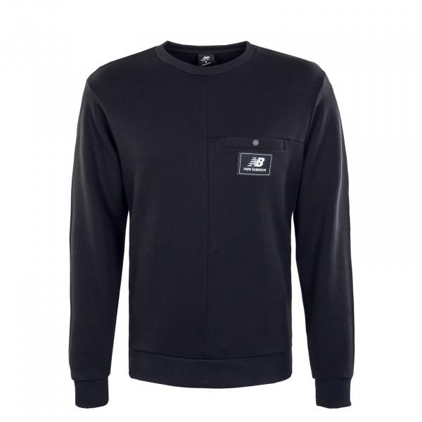 Herren Sweatshirt - Athletics Higher Learning - Black