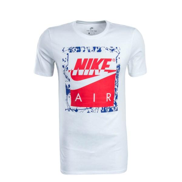 Nike TS NSW Air HBR White Blue Pink