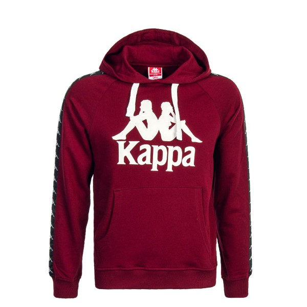 Kappa U Hoody Tello Bordo
