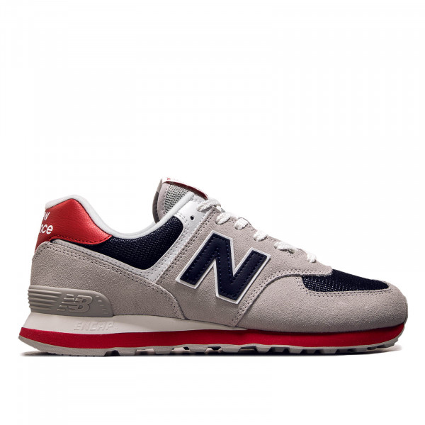 Herren Sneaker  ML 574 MUB Grey Navy Red