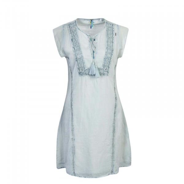 Khujo Wmn Dress Noelle Blue