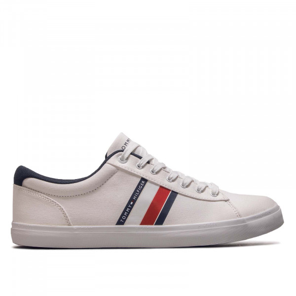Sneaker Essential Stripes Det White