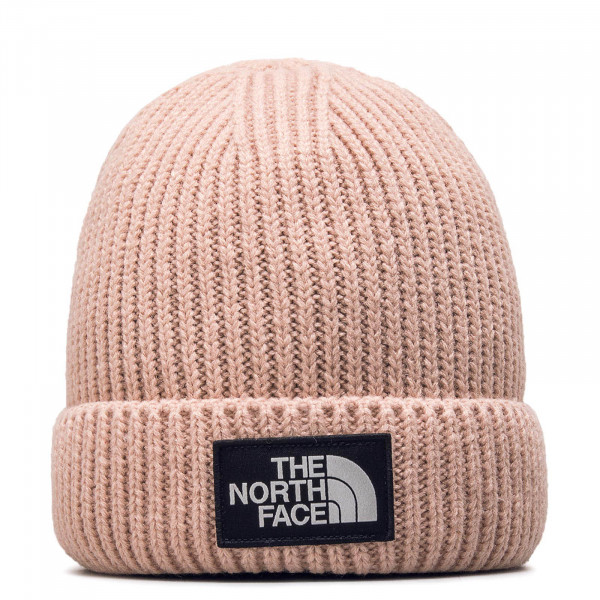Northface Beanie Logo Box Misty Rose