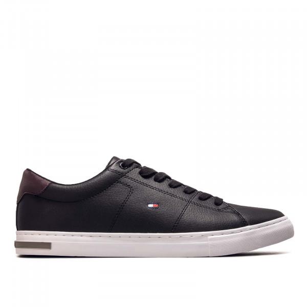 Herren Sneaker Essential Leather Detail Vulc Black