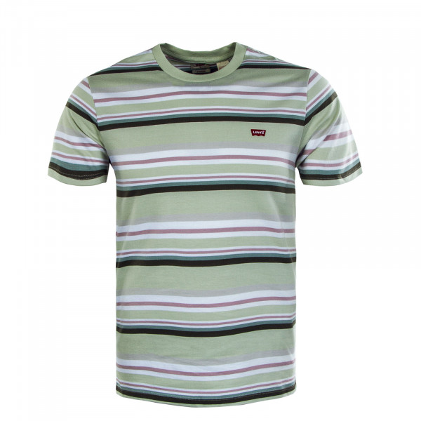 Herren T-Shirt - Original HM Sun Fade Stripe - Green