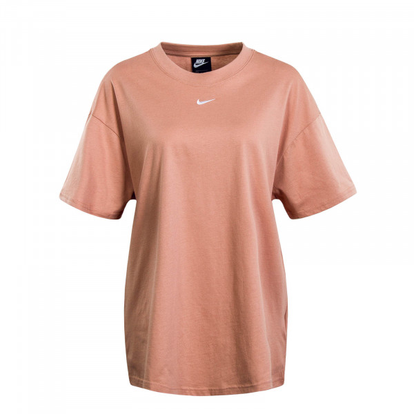 Damen T-Shirt Essential Roségold White
