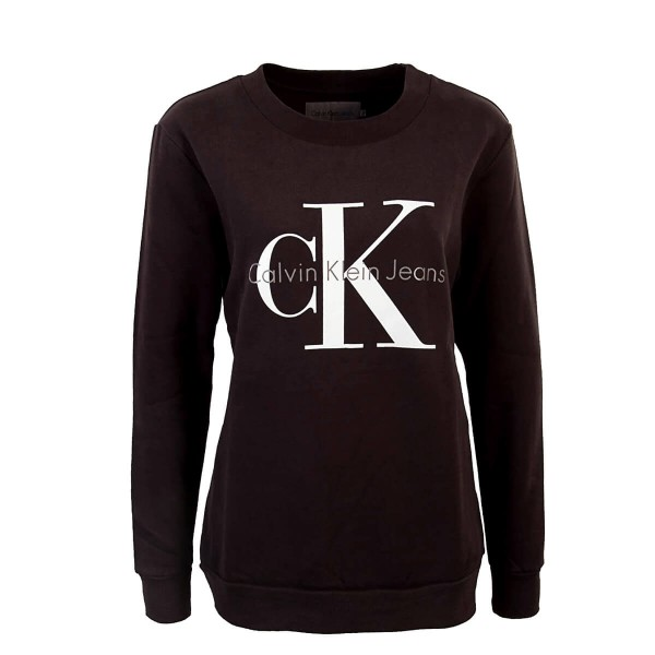 CK Wmn Sweat Crew Neck Black