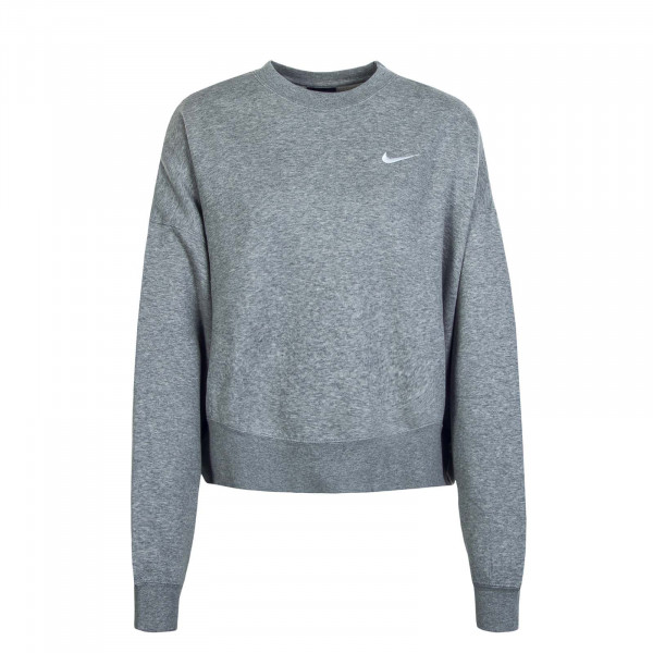 Damen Sweatshirt Crew FLC 0168 Grey White
