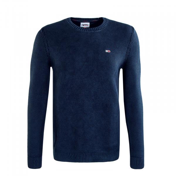Herren Pullover TJM Essential Washed Knit Navy