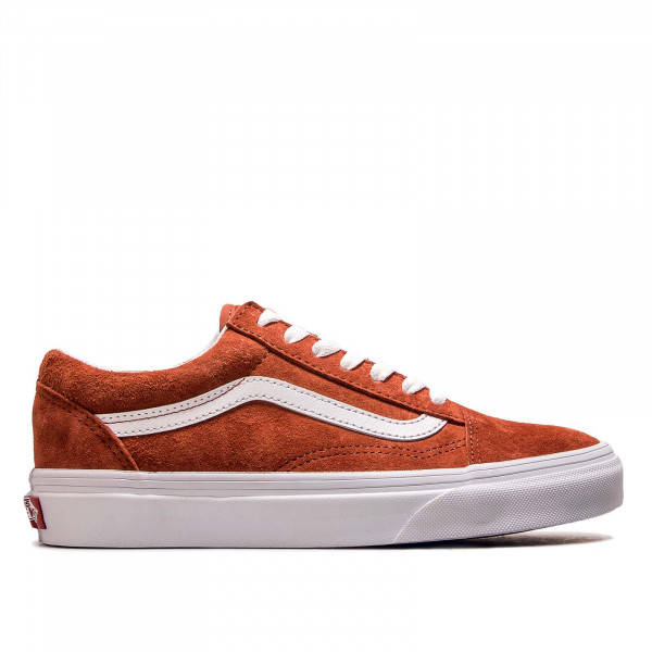 Unisex Sneaker Old Skool Suede Red White