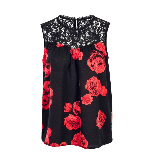 Only Top Rose Dream Black Red Rose