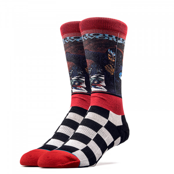 Stance Socks Anthem Liquid Swords Red