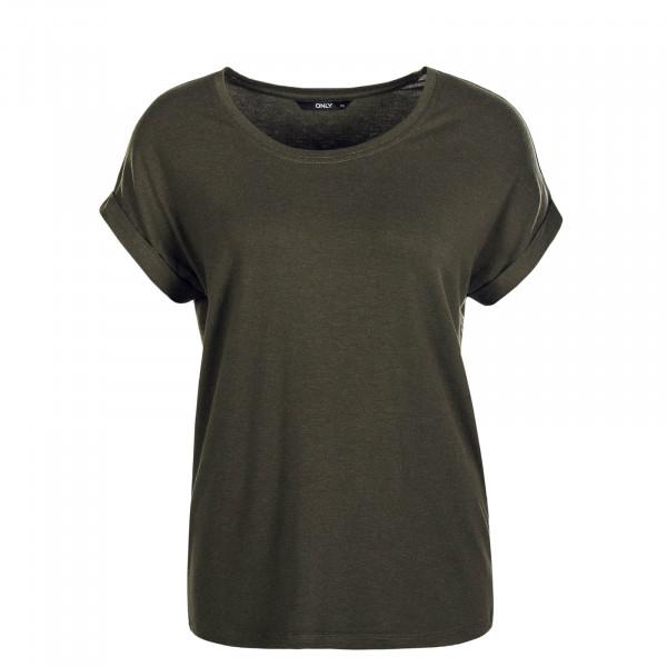Damen T-Shirt Moster Olive