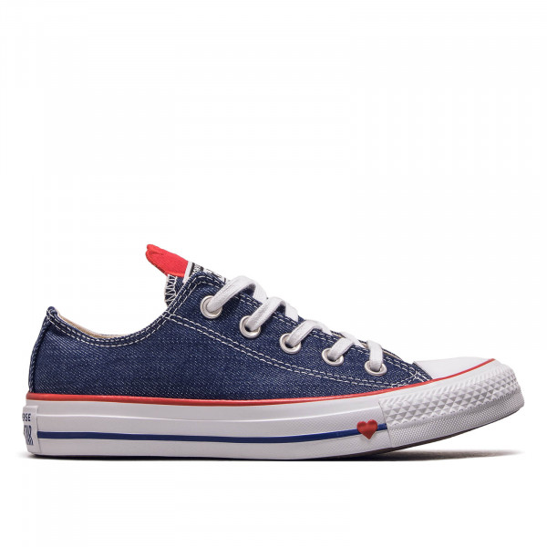 Chuck Taylor All Star OX Indigo Red White