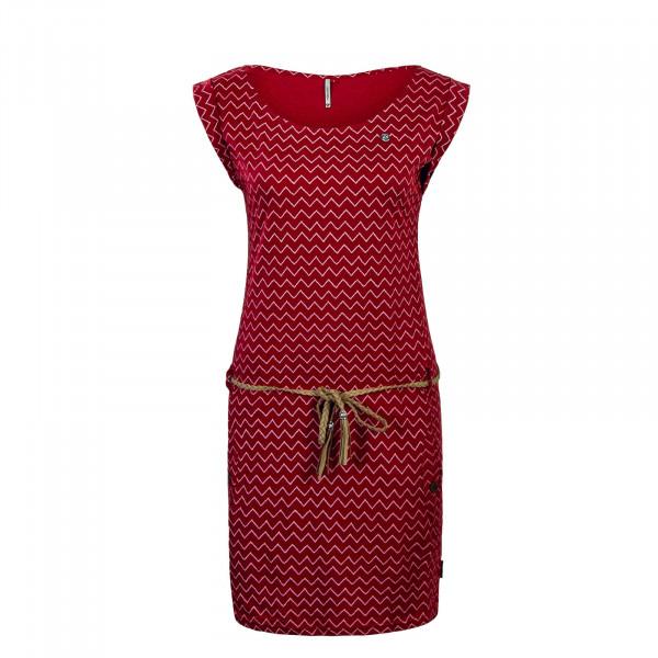 Dress Tag Zig Zag Red