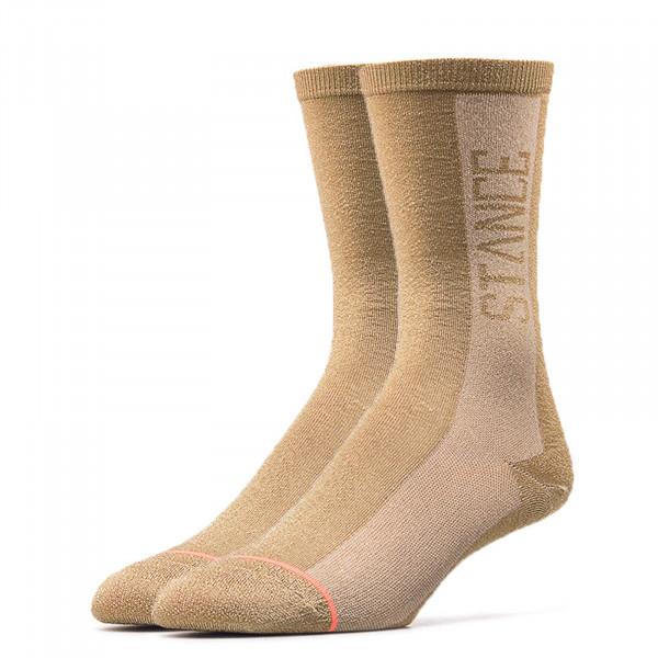 Stance Socks Wmn Judge Me Gold