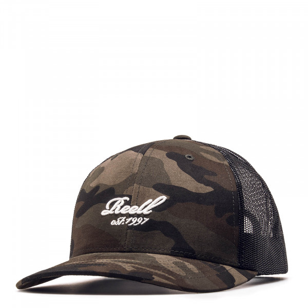 Reell Cap Curved Carmo Olive Black