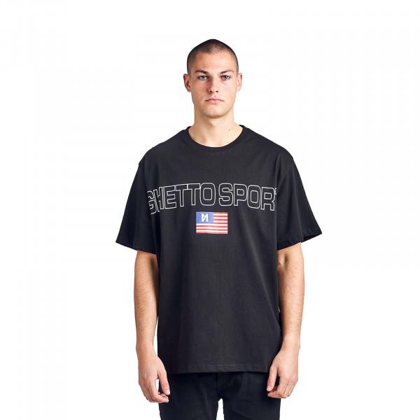 Herren T-Shirt Maskulin Frank Black