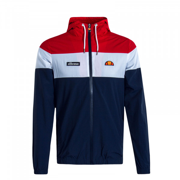 Herren Trainingsjacke Mattar Navy Red