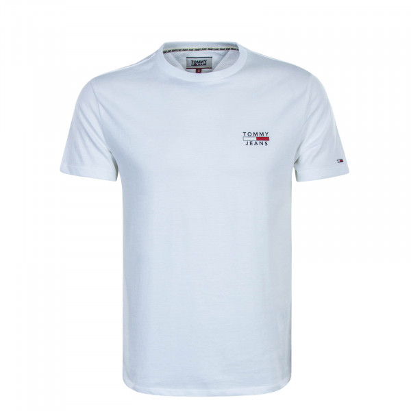 Herren T-Shirt 7472 Chest Logo White