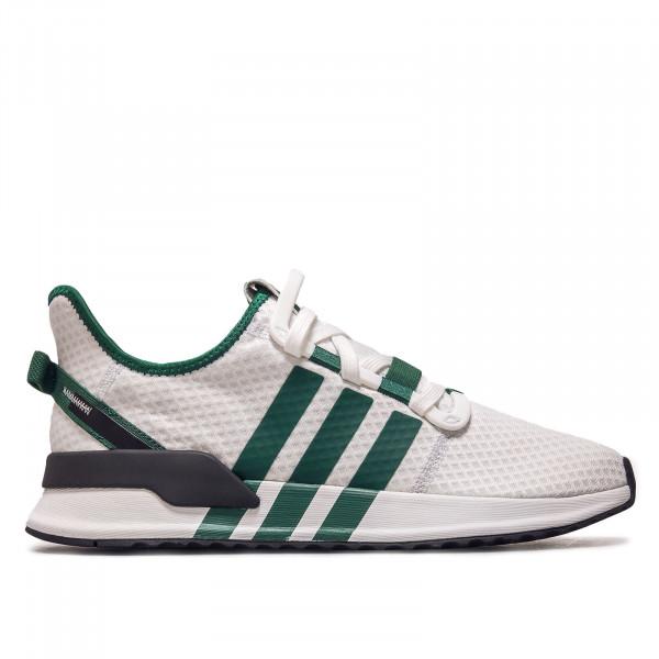 Herren Sneaker - U_Path Run Crystal  - White / Green / Black