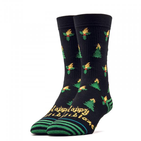 Stance Socks Foundation Holiblaze Black