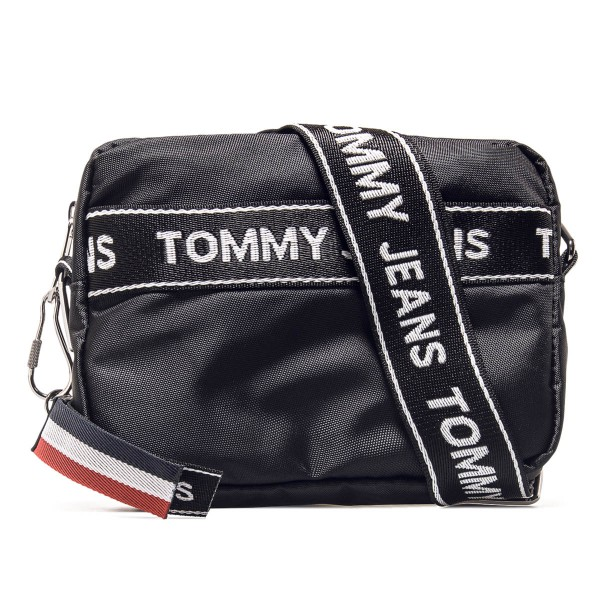 Tommy Bag Logo Cam Black