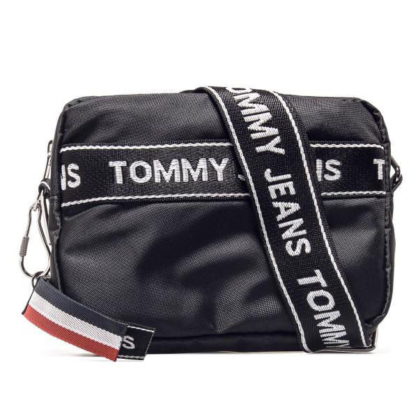 Tommy Bag Logo Cam Black