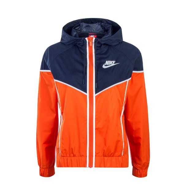 Damen Jacke NSW Windrunner Orange Navy