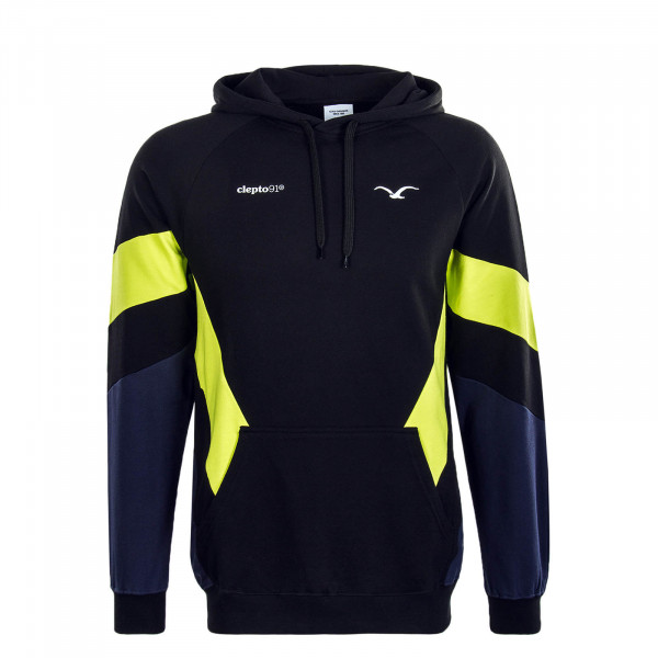 Herren Hoody That 2 Black White Lime