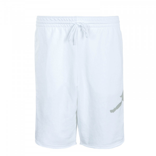 Herren Short Jumpman Logo FLC White Grey