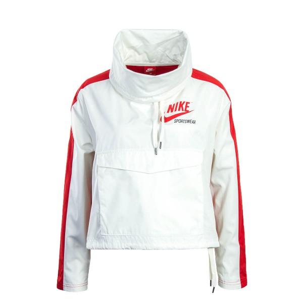 Nike Wmn Breaker NSW PO White Red
