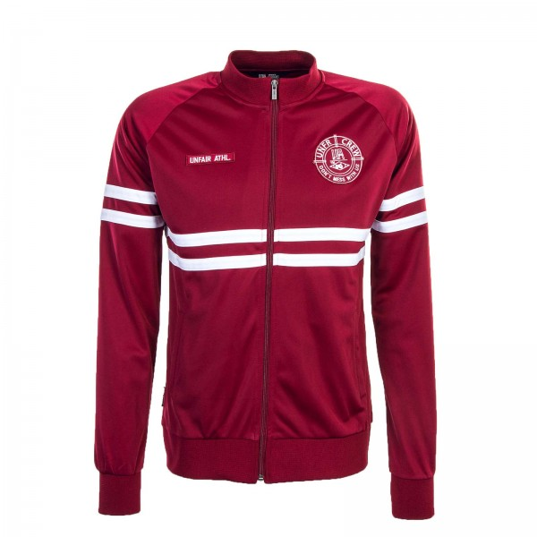 Unfair Trainingjkt DMWU Tracktop Bordo