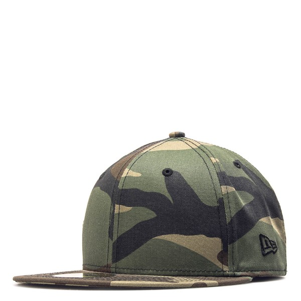 New Era Cap 59Fifty Script Olive Camo
