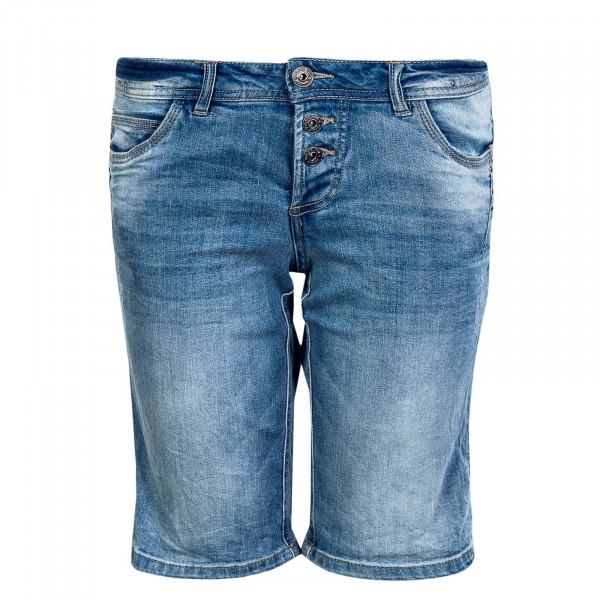 Damen Short 61506AZM Middle Blue