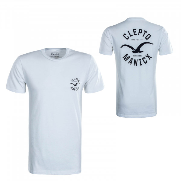 Herren T-Shirt Game White