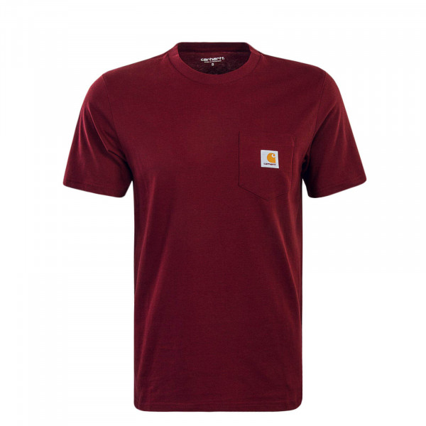 Herren T-Shirt Pocket Cranberry