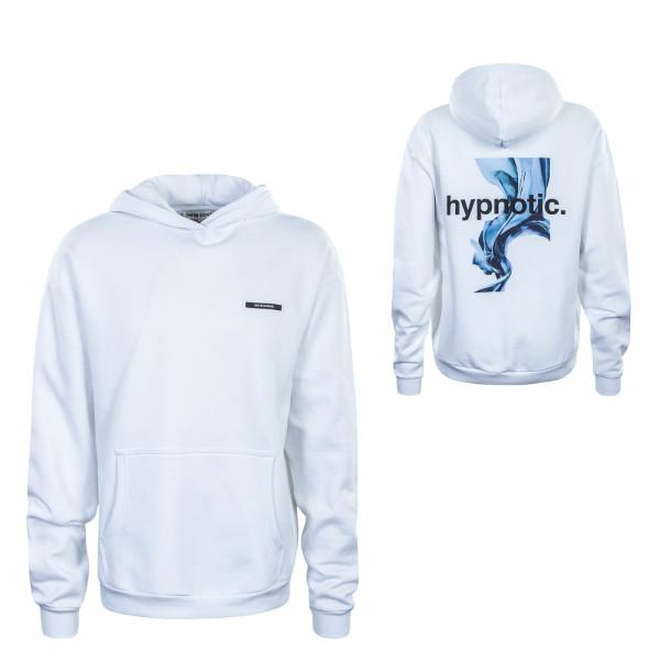 Herren Hoody - Hypnotic - White