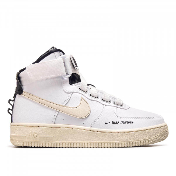 Nike Wmn Air Force 1 Hi White Cream Blk