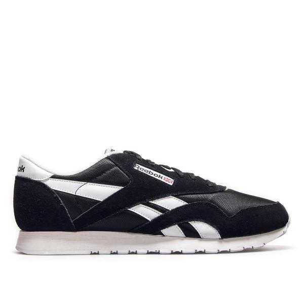 Reebok Nylon Classic Black White
