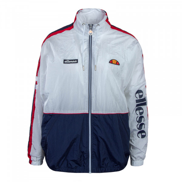 Ellesse Wmn Jkt Pampino White Navy Red