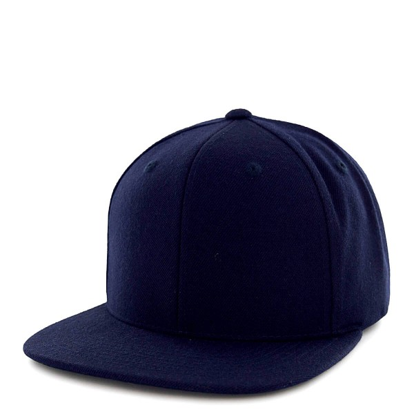 State Of Wow Cap Crown 12 Snap Navy