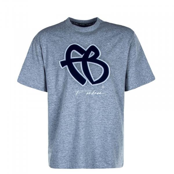 Herren T-Shirt Classic 32007 Grey Navy White